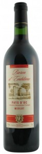 Baron d'Emblème Merlot 2010, reduced to £5.49 at winedeal.co.uk